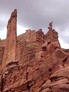 Rock Climbing Photo: Ancient Art, Fisher Towers, UT