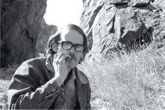 Rock Climbing Photo: Brian Kew taking a break. Photo; Steve Nelson