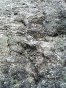 Rock Climbing Photo: A close-up of pegmatite - difficult to see bolts w...