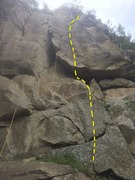 Rock Climbing Photo: The 5.12a