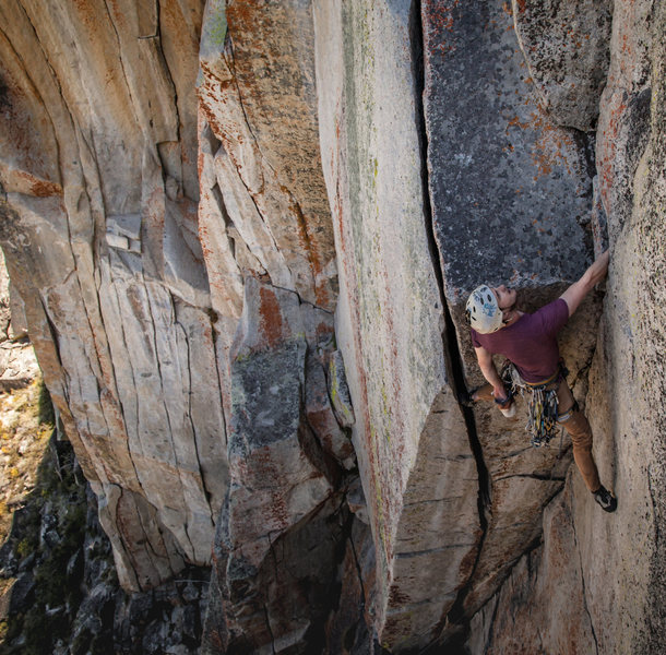 Rock Climbing Photo: Tyson ionizing on the the obscure classic that is ...