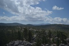 Rock Climbing Photo: The view you see once you send your route on Coyot...