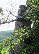 Rock Climbing Photo: Dave Erickson, non-conformist!