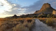 The sandy path that traverses the Pass. The Cederberg mountain range is gorgeous.