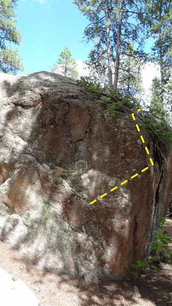 Rock Climbing Photo: Insert theme song here.