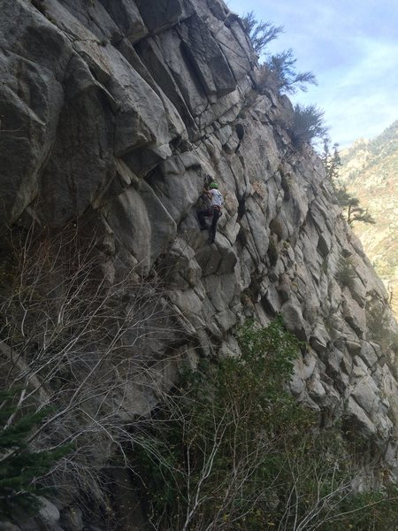 Finishing traverse
