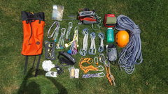 Rock Climbing Photo: Pack (Contents)