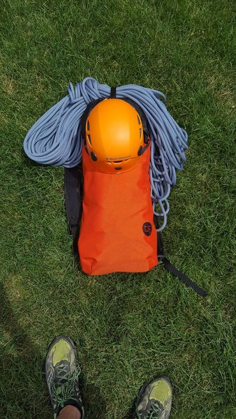 Rock Climbing Photo: Pack (Packed, Ground)