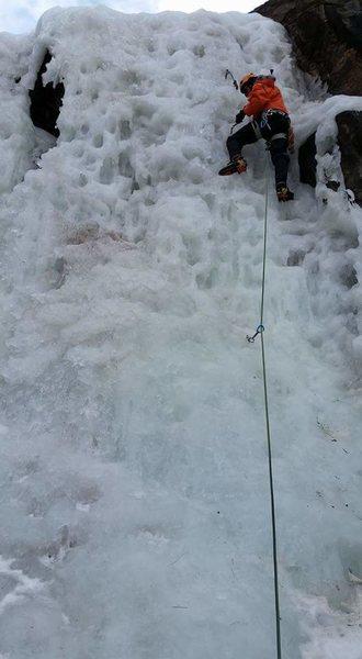 Clear Creek Canyon ice