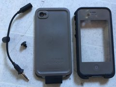 Rock Climbing Photo: Lifeproof case for iPhone 4/4s