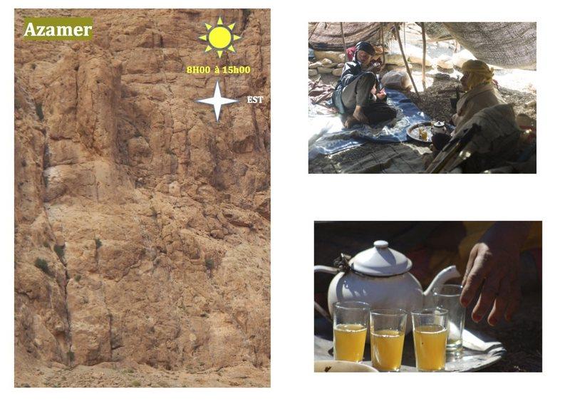 Climbing in Morocco Escalade au Maroc<br> Guidebook climbing in the Todra gorges <br> Azamer area