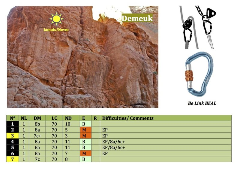 Rock Climbing Photo: Climbing in Morocco Escalade au Maroc Guidebook cl...
