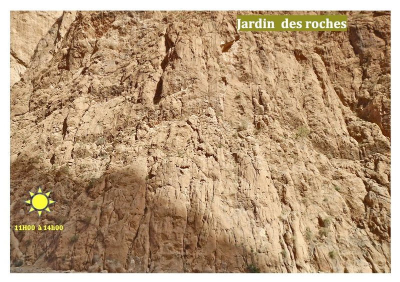 Climbing in Morocco Escalade au Maroc<br> Guidebook climbing in the Todra gorges <br> Jardin des roches area