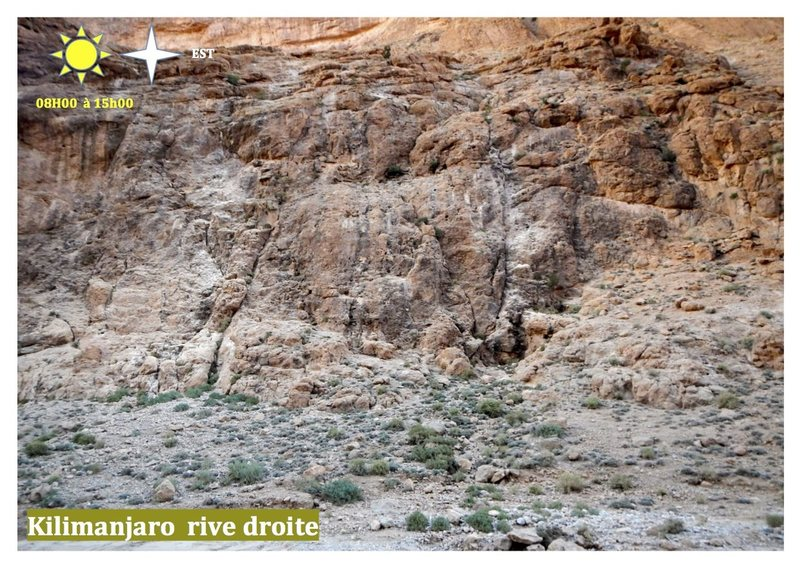 Climbing in Morocco  Escalade au Maroc<br> Guidebook climbing in the Todra gorges <br> Kilimanjaro rive droite