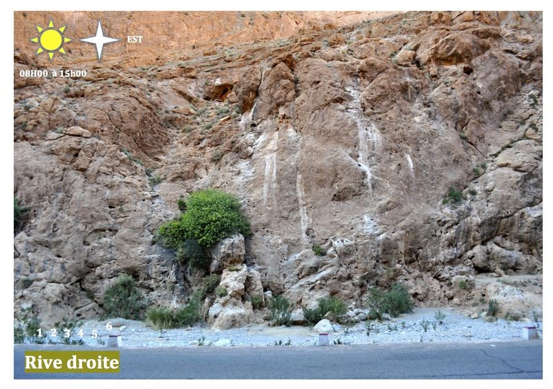 Climbing in Morocco  Escalade au Maroc<br> Guidebook climbing in the Todra gorges <br> Rive droite area