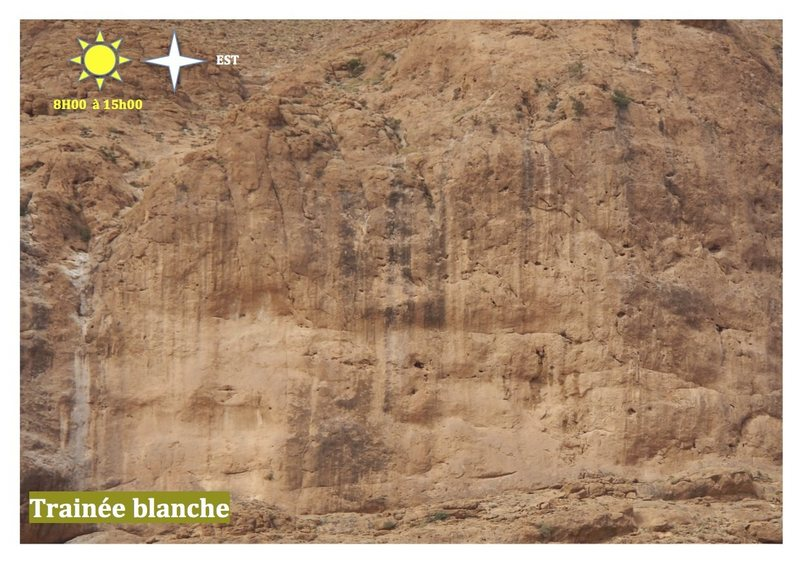 Climbing in Morocco  Escalade au Maroc<br> Guidebook climbing in the Todra gorges <br> Trainée blanche area