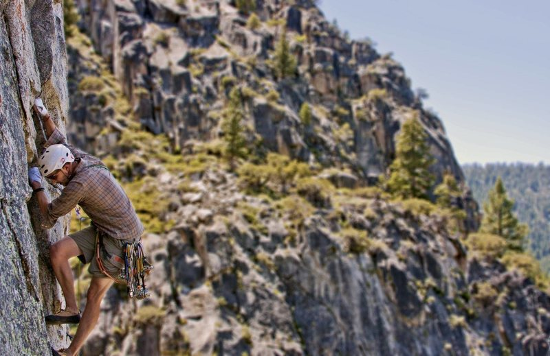 Rock Climbing Photo: Cloudburst Canyon Mega Classic.