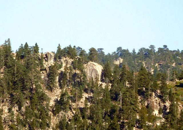 Black Bluff from Hwy 18, Big Bear South