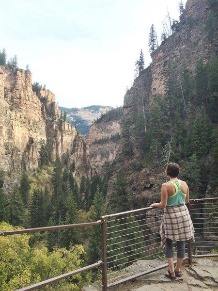 Rock Climbing Photo: Hanging Lake - Glenwood Springs, CO 2015