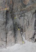 Rock Climbing Photo: You can see the large flake mentioned in the descr...