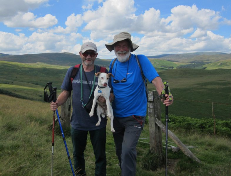 Hiking in Northumberland with Chris 2016