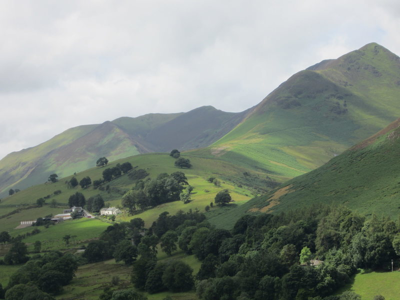 Causey Pike Newlands Valley