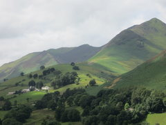 Rock Climbing Photo: Causey Pike Newlands Valley