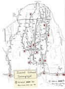 Rock Climbing Photo: Routes on the Zuestoll peak
