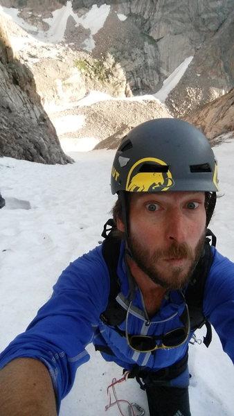 Rock Climbing Photo: Top of Lamb Slide