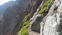 Rock Climbing Photo: Broadway Crux
