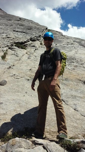 Rock Climbing Photo: Me at Herring Creek Dome