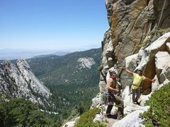 Rock Climbing Photo: The Psych is high with this one!!