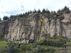 Rock Climbing Photo: Zona 2