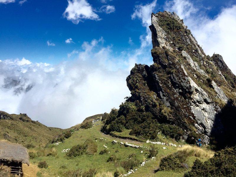 Rock Climbing Photo: Zona meteorito
