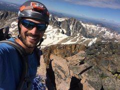 Rock Climbing Photo: Summit of Granite