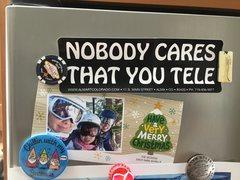 Nobody cares that you tele