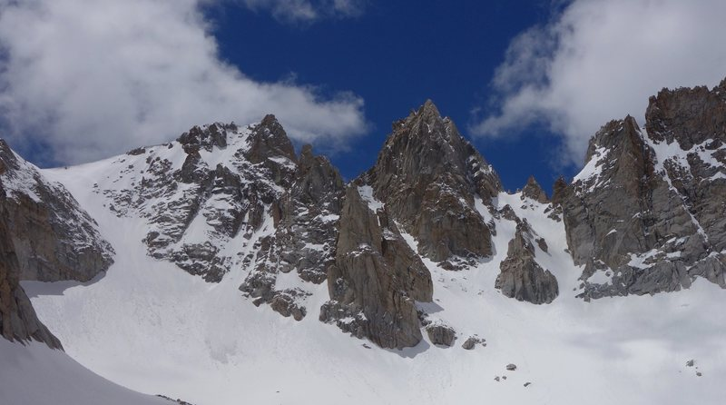 Approach to Matterhorn Peak CA