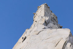 Rock Climbing Photo: Alone on the Third Pillar of Dana photo by Drew Sm...