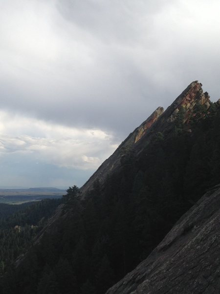 Looking at the second and third flatiron.