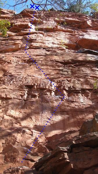 Rock Climbing Photo: Club Tropicana Coconuts- 11d.