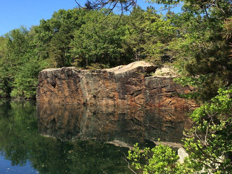 Rock Climbing Photo: The wall.