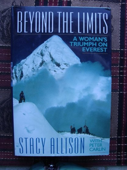Stacy Allison on Everest