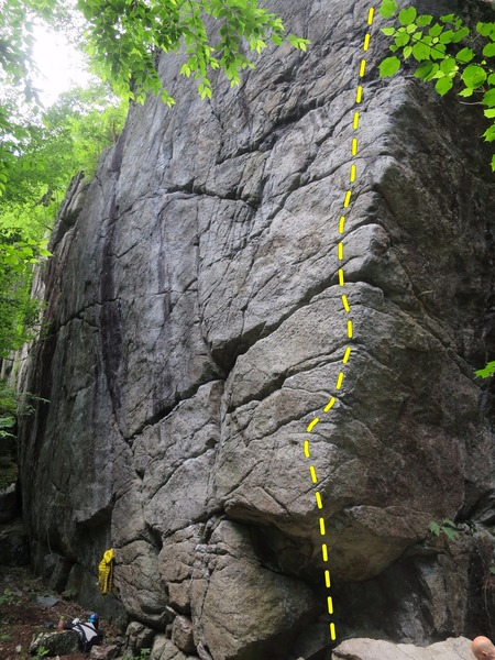 Rock Climbing Photo: The Crime Scene at Split Rock Canyon. Partners in ...