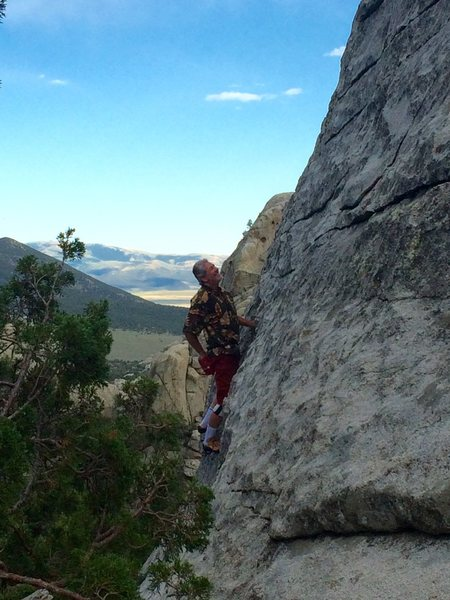 Rock Climbing Photo: This really is Pure Pleasure.  Some of the best ro...