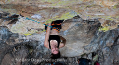 Rock Climbing Photo: Some use a nohand rest here, but, it's not rea...