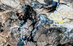 Rock Climbing Photo: I love the colors of this crag