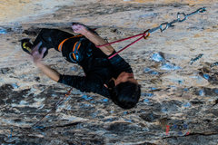 Rock Climbing Photo: Rest before the crux