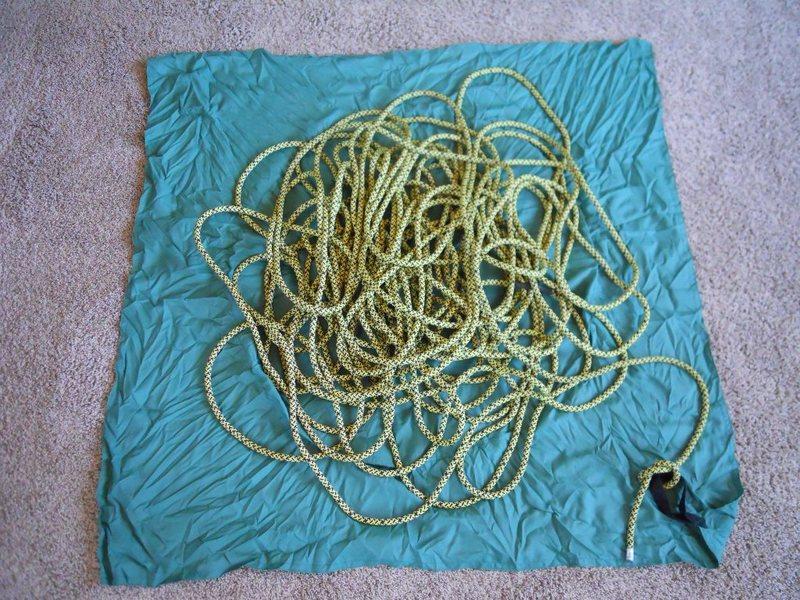 Rope Bag Opened