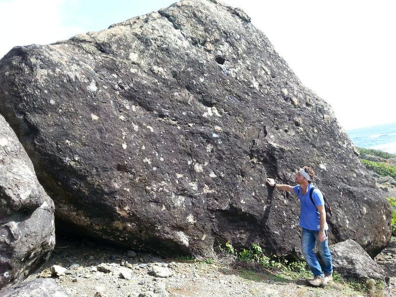 Rock Climbing Photo: Meteor Blast V 3