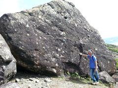 Rock Climbing Photo: The meteor